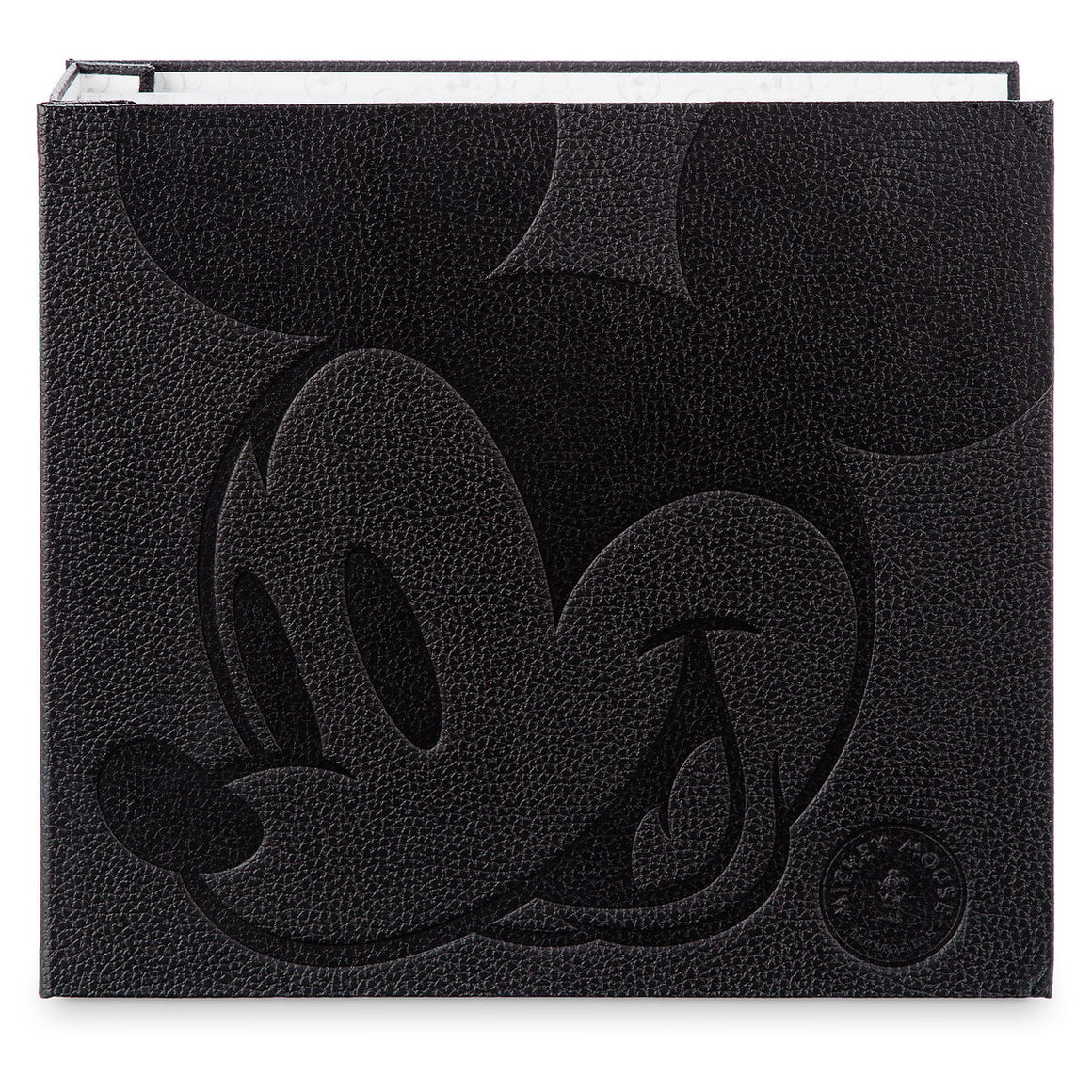 Mickey Mouse Memories Pin Collector's Album with Starter Mickey Memories Pin