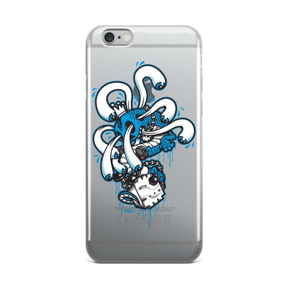 Creative King iPhone Case for SE, 6, 6+ Case by Mad Toy Design x Mindzai