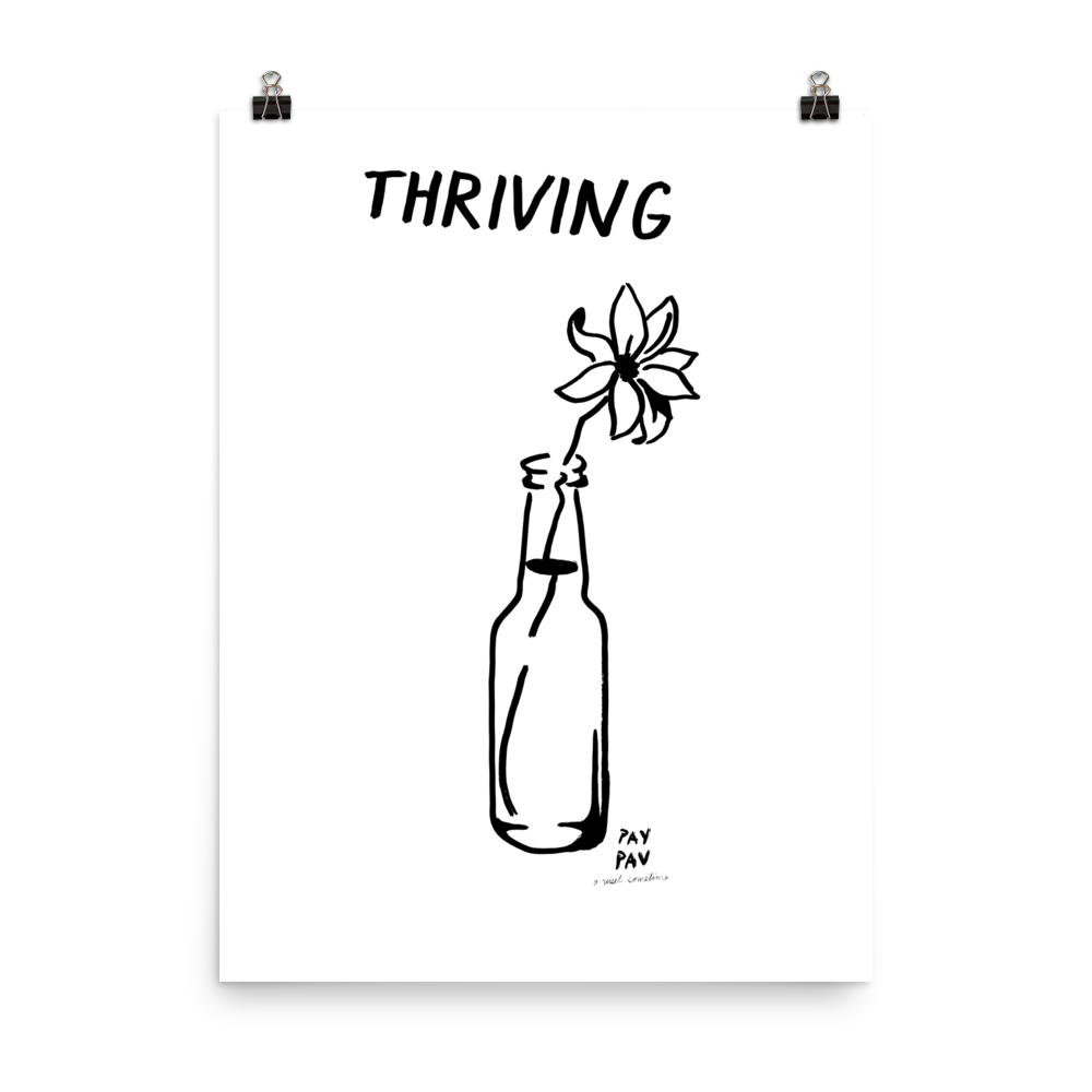 Thriving Art Print by Pavel Ioudine