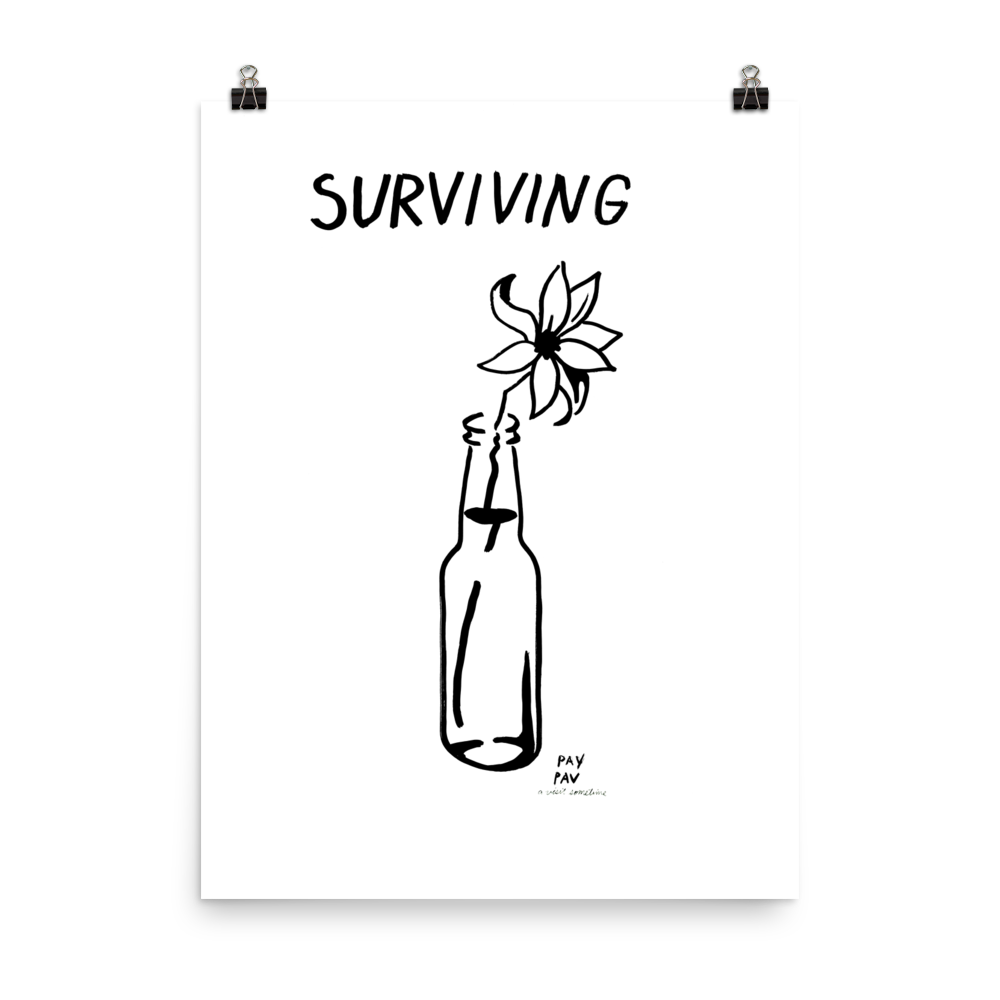 Surviving Art Print by Pavel Ioudine