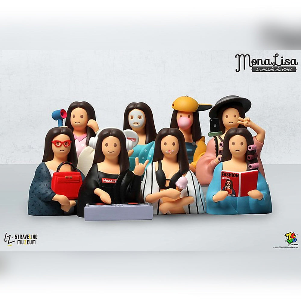 *Pre-order* Mona Lisa Mini Figures by Straveling Muzeum