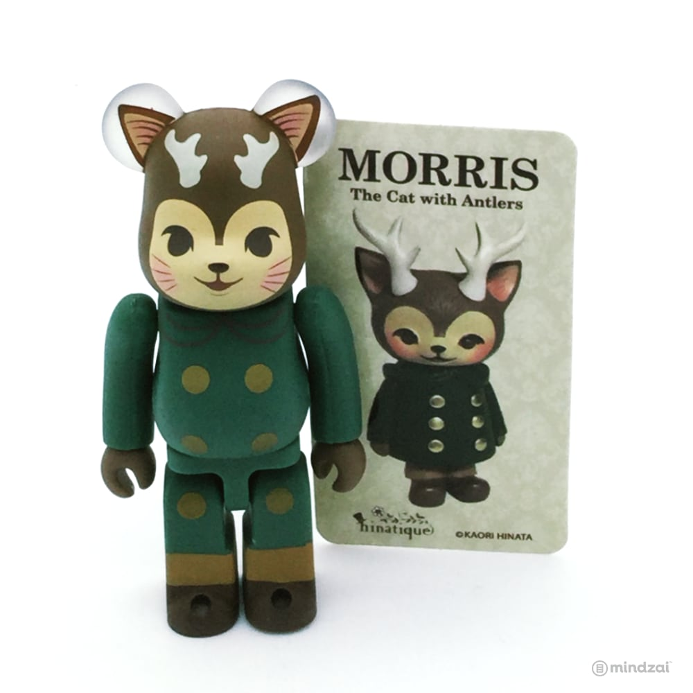 Bearbrick Series 36 - Morris the Cat with Antlers (Artist)