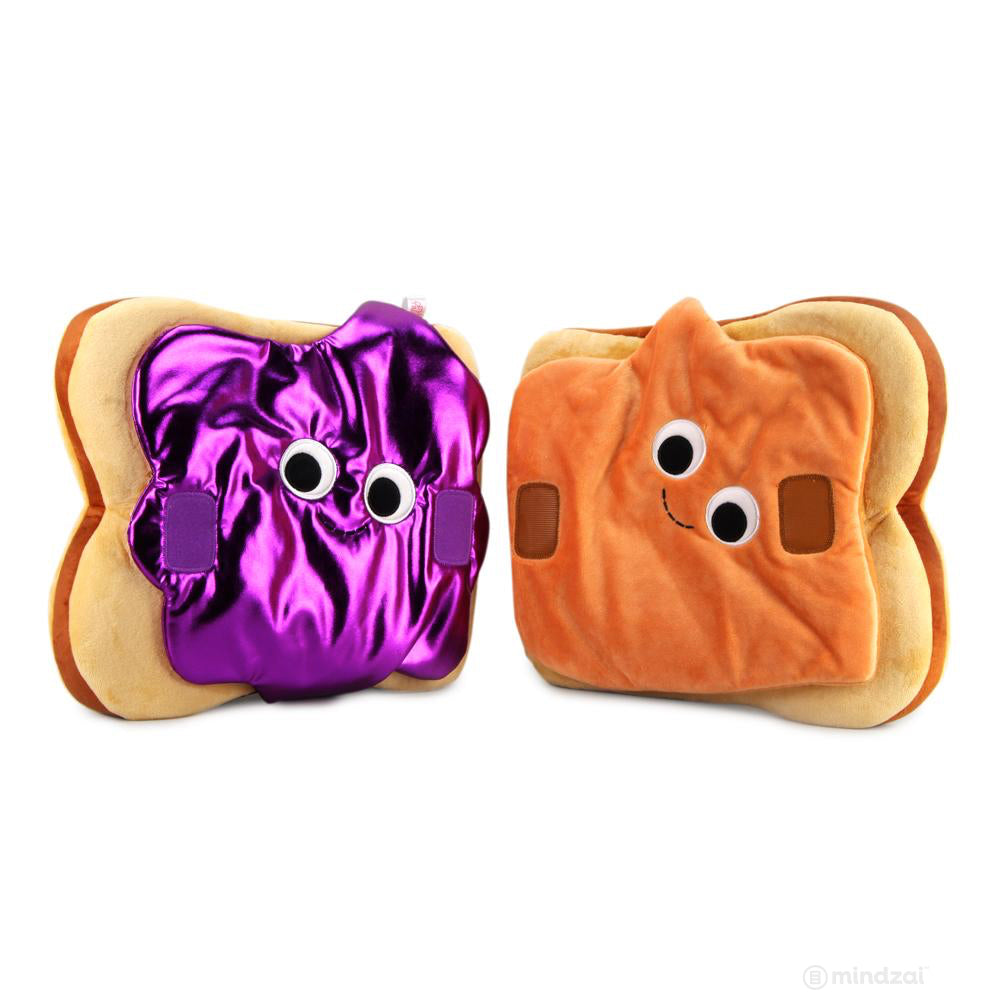 *Special Order* Yummy World Parker and Jayden Peanut Butter and Jelly Sandwich Plush Toy by Kidrobot