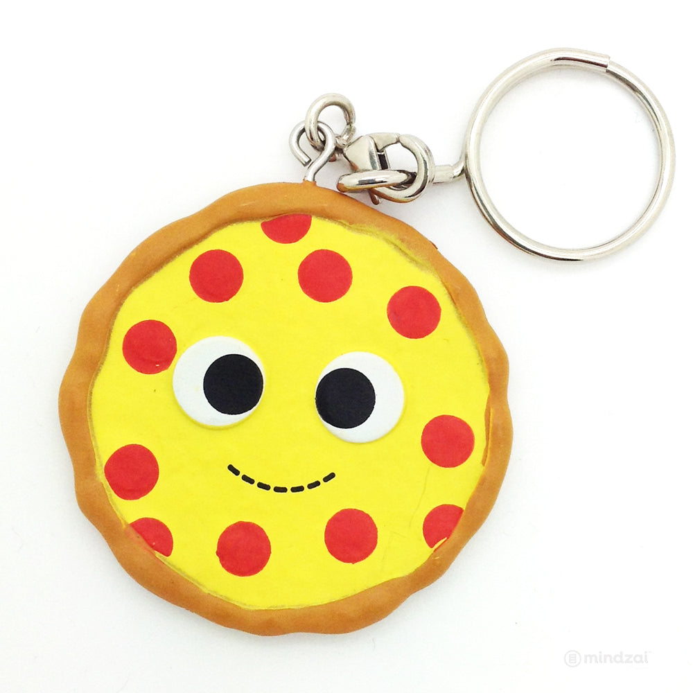 Yummy World Sweet and Savory Blind Bag Keychain Series - Pepperoni Pizza