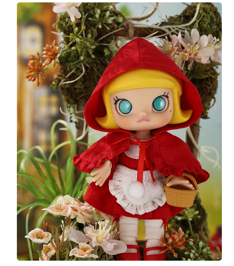 Little Red Molly Ball Joint Doll BJD Toy by Kennyswork x POP MART