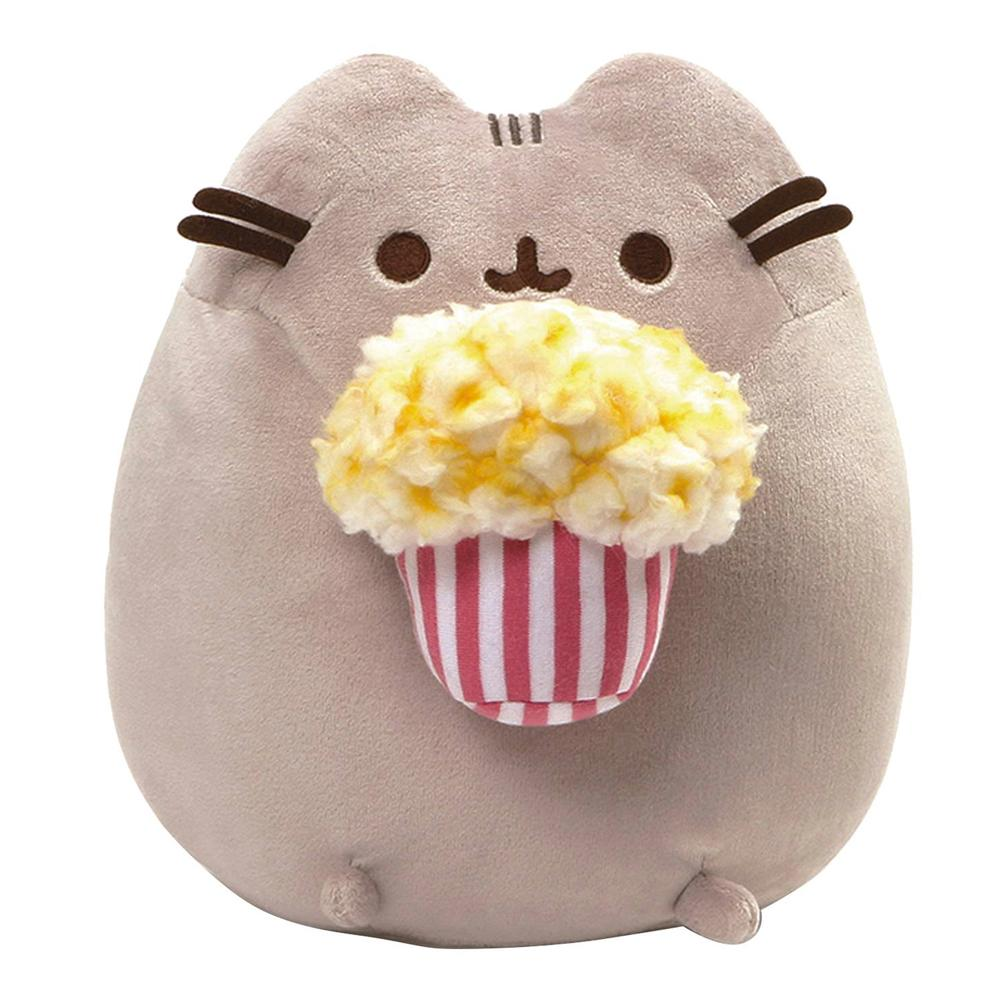 "Pusheen Popcorn 9.5"" Plush by Gund"