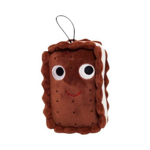 "Yummy World 4"" Sandy Small Ice Cream Sandwich Plush by Heidi Kenny x kidrobot - Mindzai"