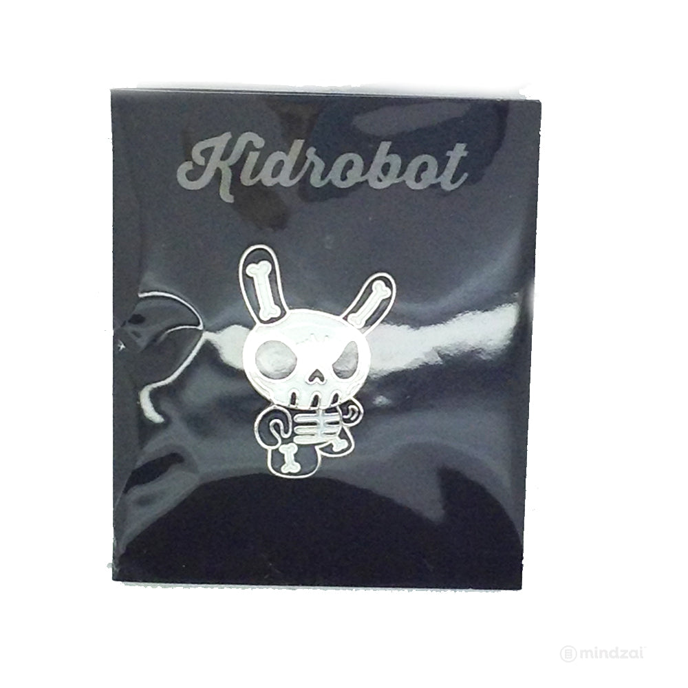Pinning and Winning Enamel Pin Series 1 by Kidrobot - Skull Dunny