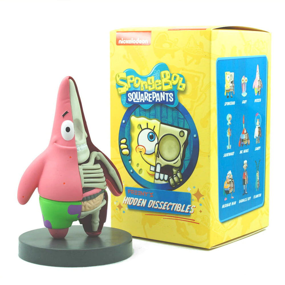 Hidden Dissectables Spongebob Squarepants Blind Box Series by Jason Freeny x Mighty Jaxx