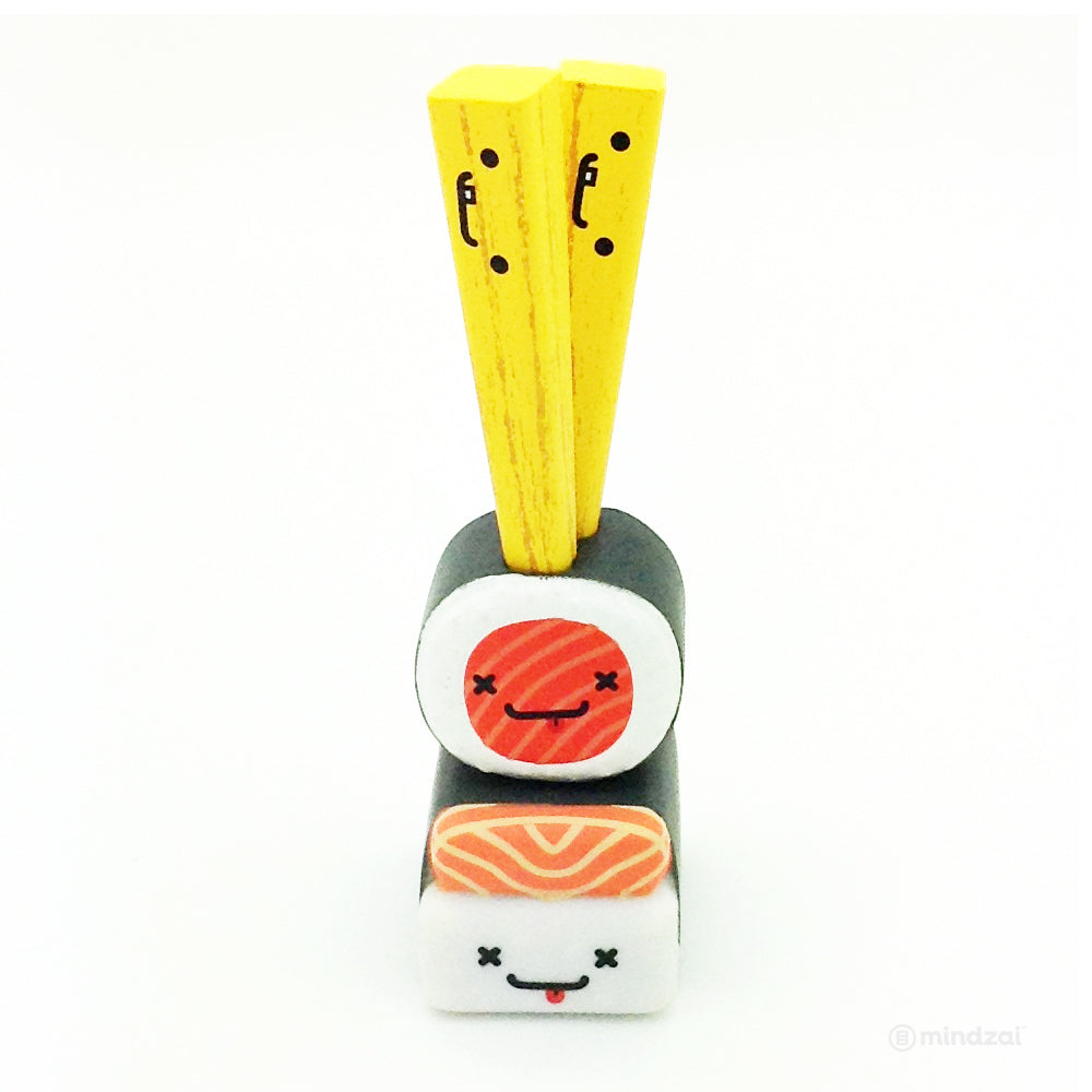 BFFs Love Hurts Mini Series 3 Blind Box by Travis Cain x Kidrobot - Slim, Nigri and Maki (Sushi and Chopstick)