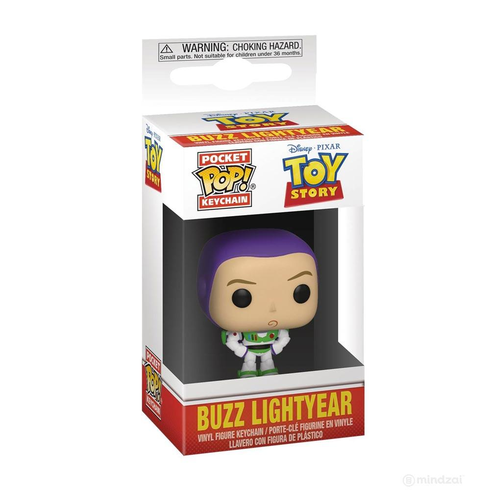 Toy Story: Buzz Lightyear Pocket Pop Keychain by Funko