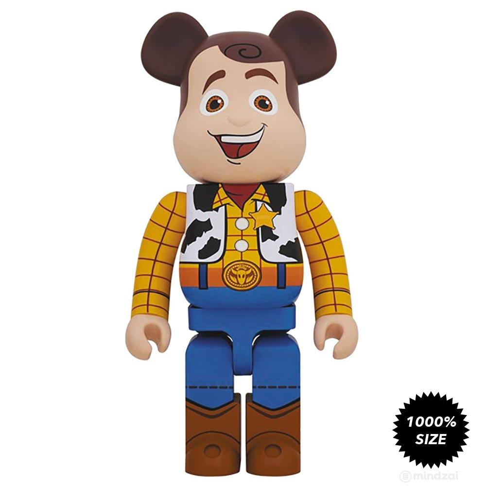 Toy Story Woody 1000% Bearbrick by Medicom Toy