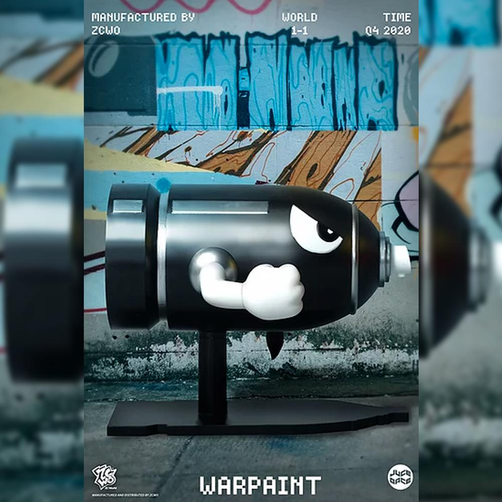 *Pre-order* Warpaint Art Toy by Juce Gace x ZCWO