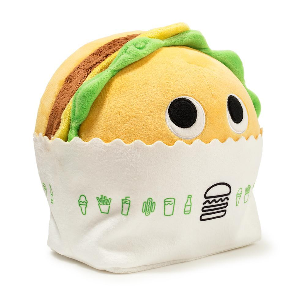 Yummy World Burger Plush by Shake Shack x Kidrobot