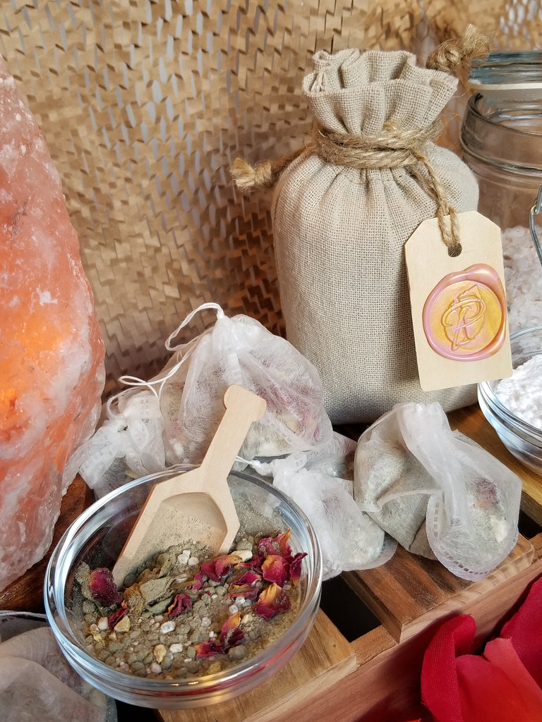 relaxation for mature and sensitive skin types bath salts