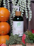 orange and ylang ylang cbd body lotion