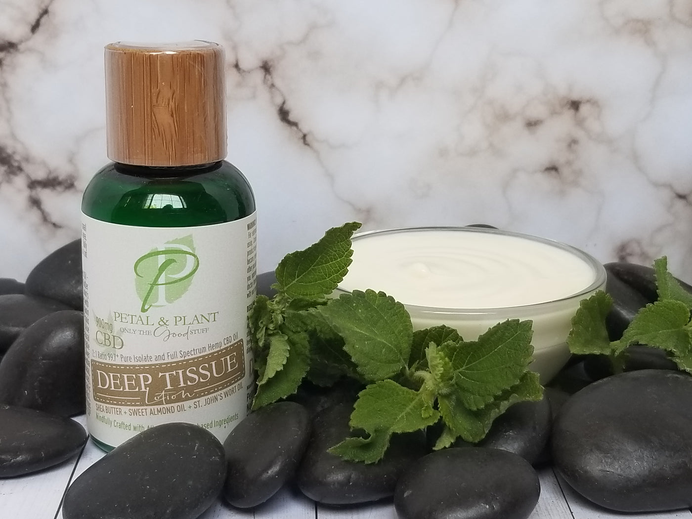 2oz Deep Tissue Hemp CBD Lotion