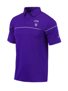 Columbia Men's Omni Wick Breakers Polo, Purple
