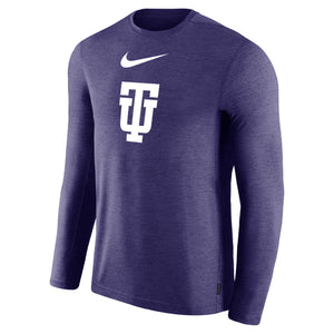 Nike Coaches Long Sleeve Tee, Orchid Heather