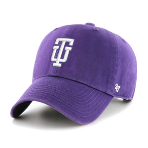 47 Brands Headwear Cooperstown 47' Clean Up Cap, Purple