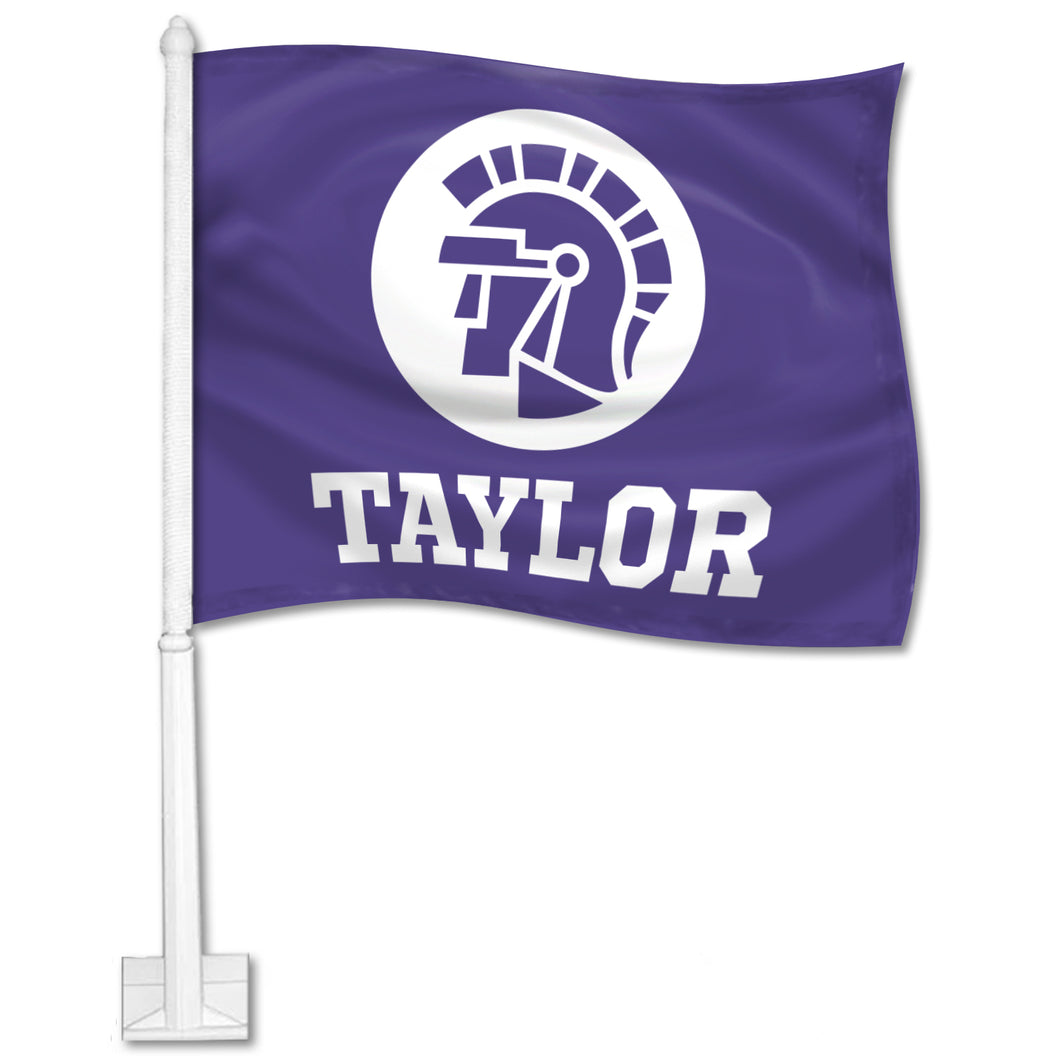 Outdoor Car Flag, Purple