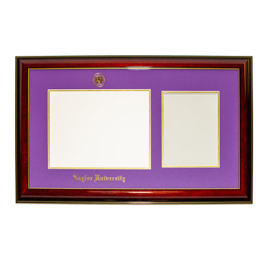 Jostens Diploma Frame with Towel Frame