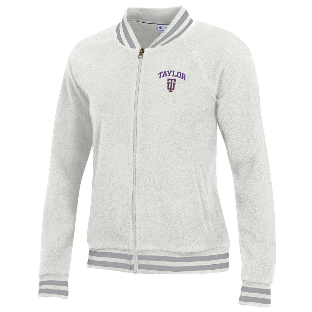 Champion Women's Sherpa Jacket, Winter White