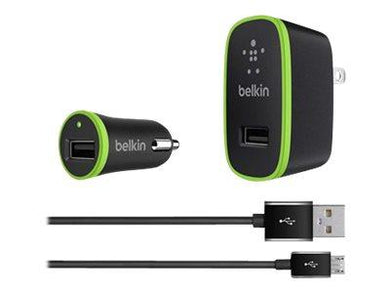 Tech Belkin Boost Charge Dual Charger Car Power Adapter, Black