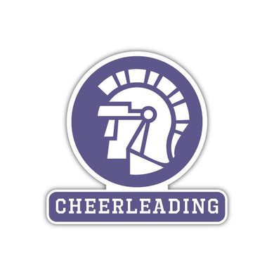 Cheerleading Decal - M19