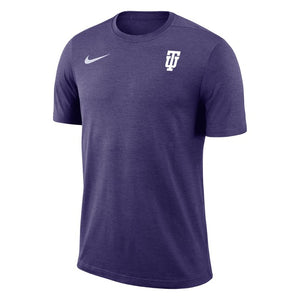 Nike Men's Coach Short Sleeve Tee, Purple