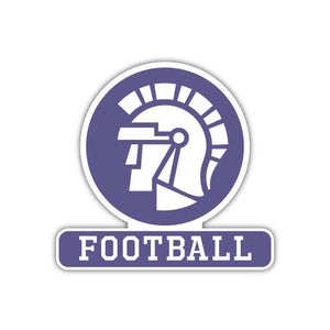 Football Decal - M9