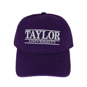 The Game Classic Relaxed Twill Hat, Purple