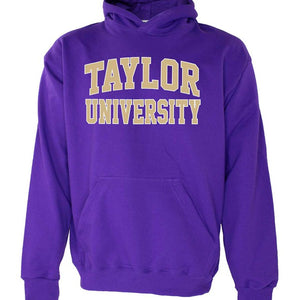 OnMission Core Cotton Hood Sweatshirt, Purple