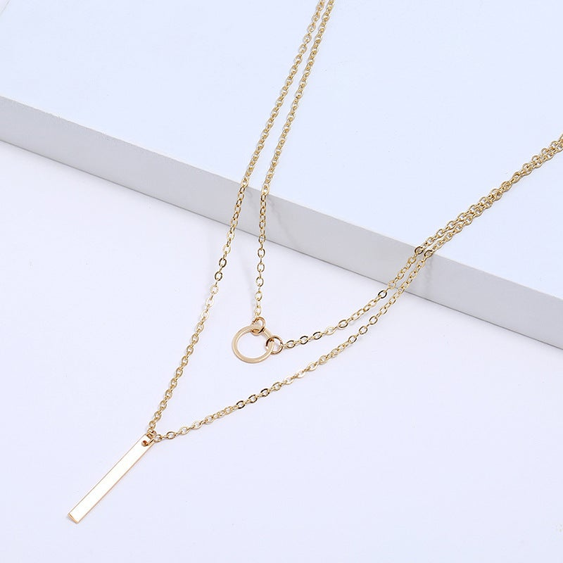 Evie Gold Layer Necklace
