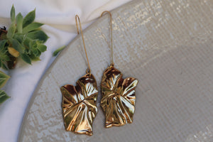 Audrey Gold Dangles
