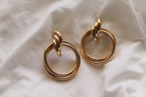 Colette Hoop Drop Earrings