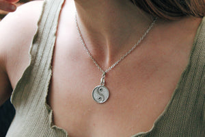 Yin and Yang Necklace