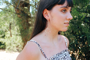 Lorelei Sun Drop Earrings