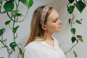 Mckenna Plaid Headband