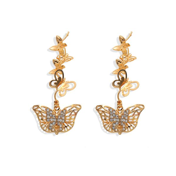 Reeana Butterfly Drop Earrings