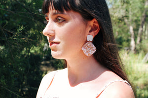 Skye Terrazzo Drop Earrings