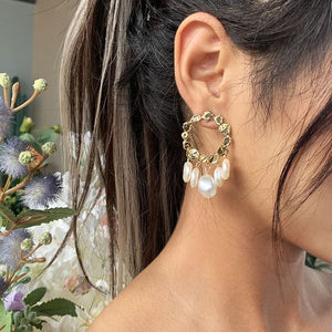 Suri Faux Pearl Earrings