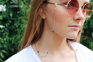 Sophia Gold Sunglasses Chain