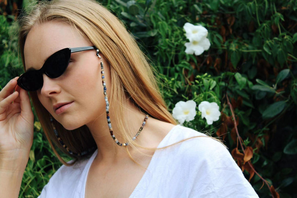 Amelia Stone Beaded Sunglasses Chain