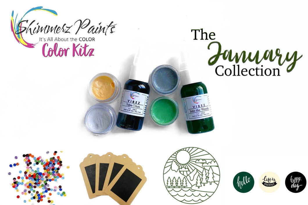 Color Kitz : January 2020 Collection