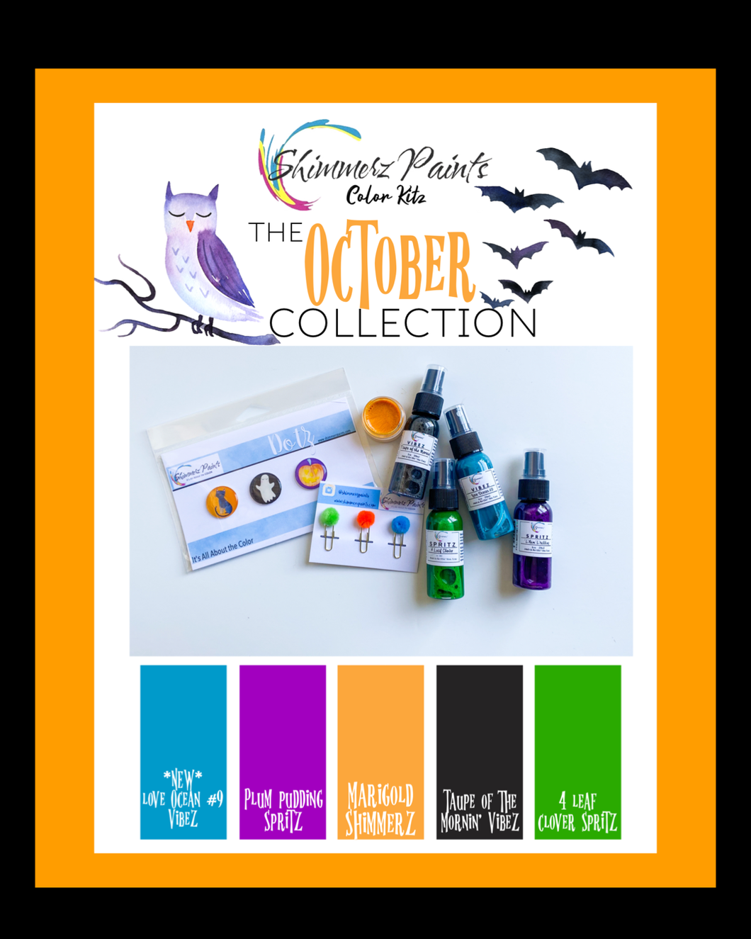 Color Kitz - The October Collection