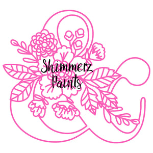 Cut Filez - Floral Ampersand by Paige Taylor Evans