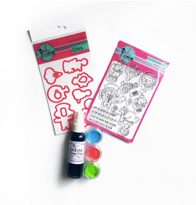 Shimmerz Paints Card Making Kit