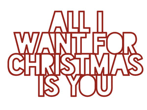 Cut Filez - All I Want for Christmas is You