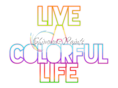 Cut Filez - Live A Colorful Life